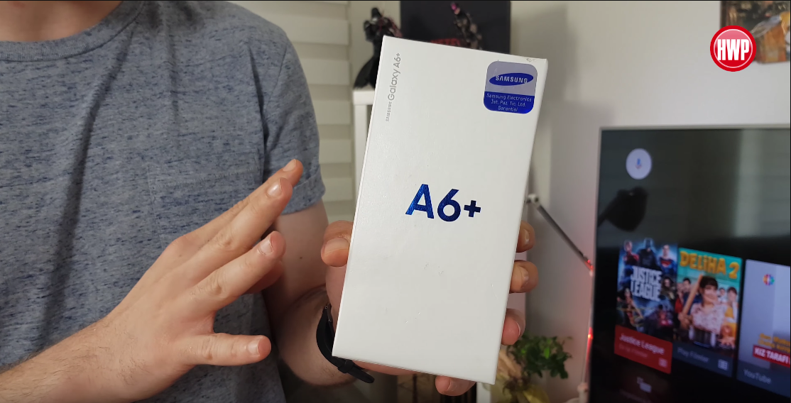 Samsung Galaxy A6+ kutu açılışı