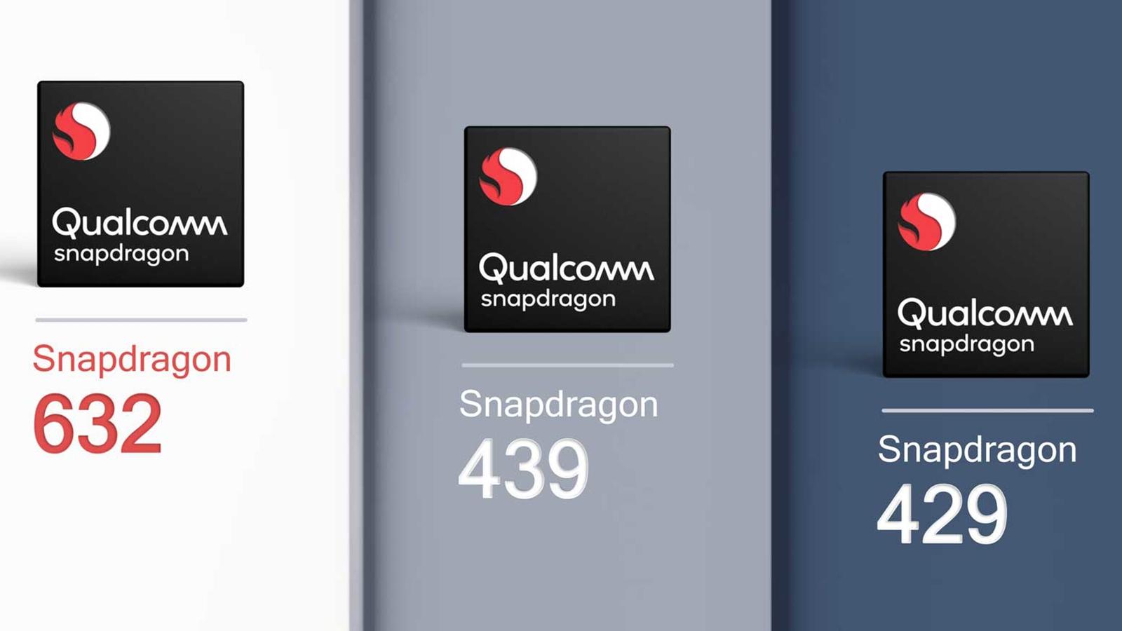 Qualcomm Snapdragon 632, 439 ve 429
