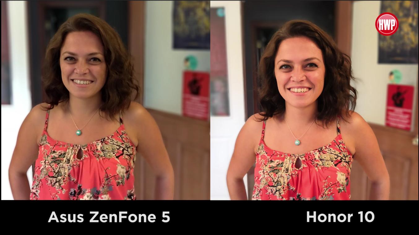 Honor 10 vs Zenfone 5 kamera karşılaştırması