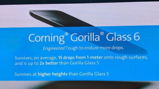 Gorilla Glass 6 Özellikleri