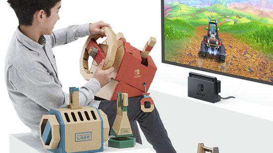 Nintendo Labo araç kiti