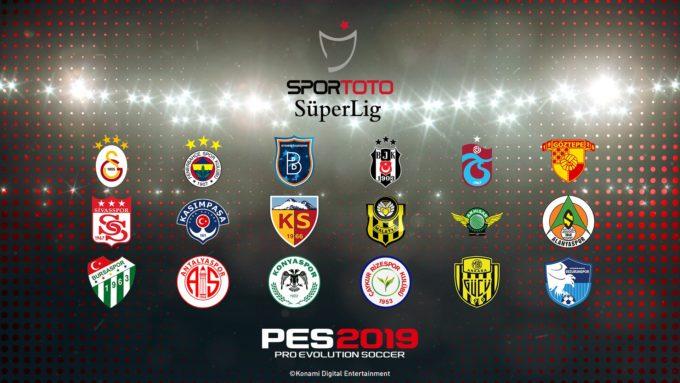 PES 2019 Spor Toto Süper Ligi