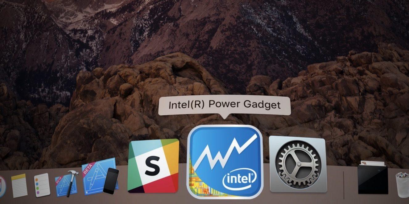 Intel Power Gadget