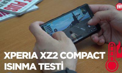 Xperia XZ2 Compact ısınma testi