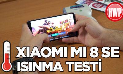 Xiaomi Mi 8 SE ısınma testi