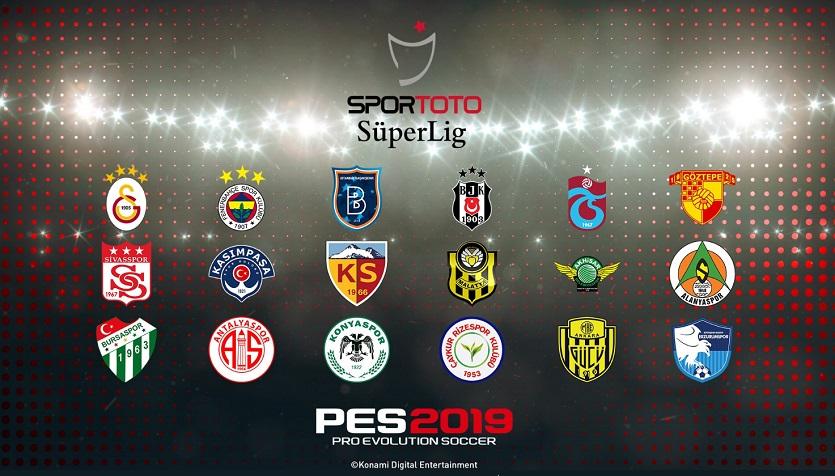PES 2019 Türkiye Ligi