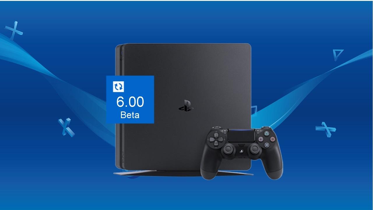 PS4 sistem yazılımı güncellemesi 6.00 beta