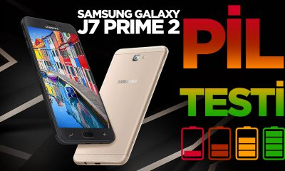 Samsung Galaxy J7 Prime 2 Pil Testi