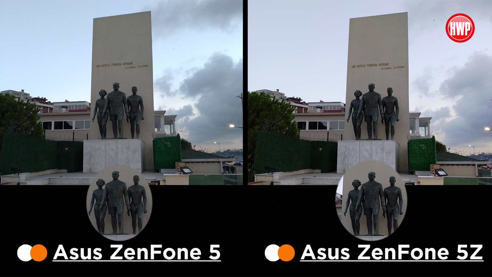 Asus ZenFone 5 vs Asus ZenFone 5Z kamera karşılaştırması