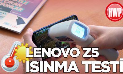 Lenovo Z5 ısınma testi