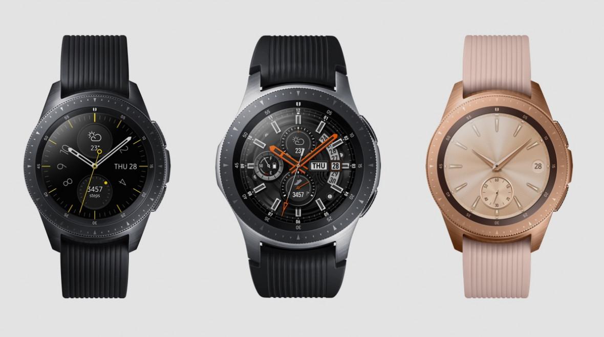 Samsung Galaxy Watch kutu açılışı