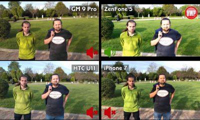 General Mobile GM 9 Pro, Asus ZenFone 5, HTC U11 ve iPhone 7 video karşılaştırma