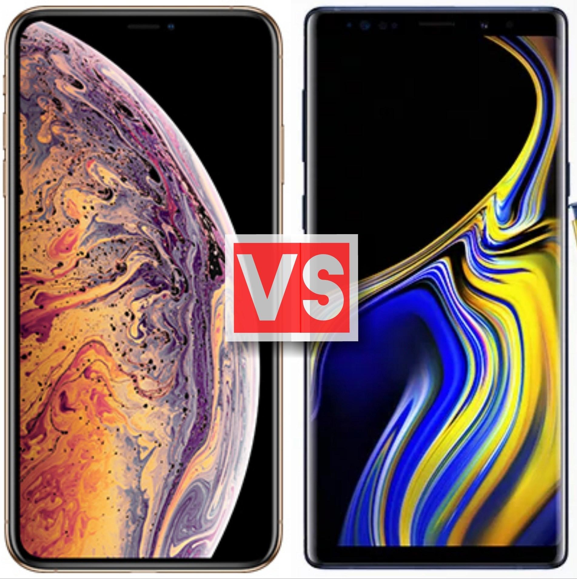 iPhone XS vs Galaxy Note 9 kamera karşılaştırması
