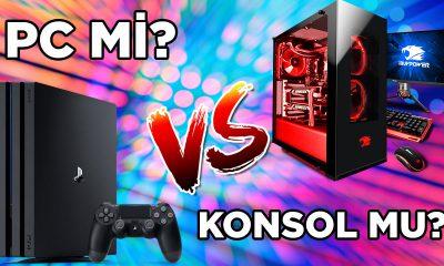 Bu dönemde oyun için hangisi alınır: PC mi? Konsol mu?