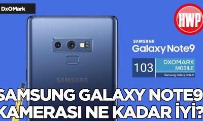 Samsung Galaxy Note9 DxOMark