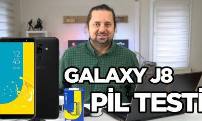 Samsung Galaxy J8 Pil Testi