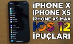 iPhone X, XS, ve XS Max için iOS 12 kullanım detayları ve ipuçları