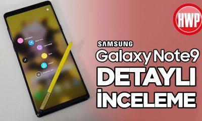 Samsung Galaxy Note9 incelemesi | 2 aylık kullanım deneyimi