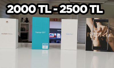 2000 - 2500 TL