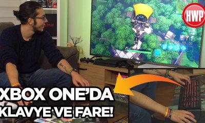 Xbox'ta klavye ve fare ile Fortnite oynadık!