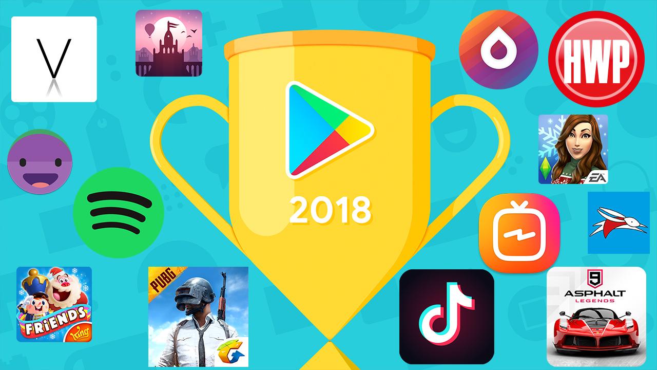 2018'in en iyi Android oyunları ve uygulamaları!