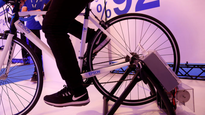 Epson Bisiklet Deneyi