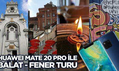 Huawei Mate 20 Pro ile Balat fotoğrafları (vLog)