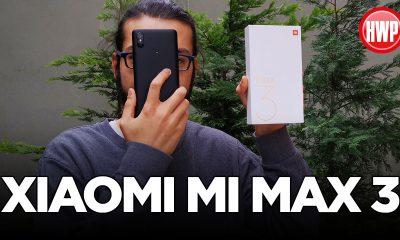 Xiaomi Mi Max 3 kutusundan çıkıyor | 6.9 inçlik devasa telefon!