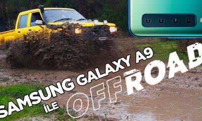 Samsung Galaxy A9 ile Off-Road keyfi!   vLog