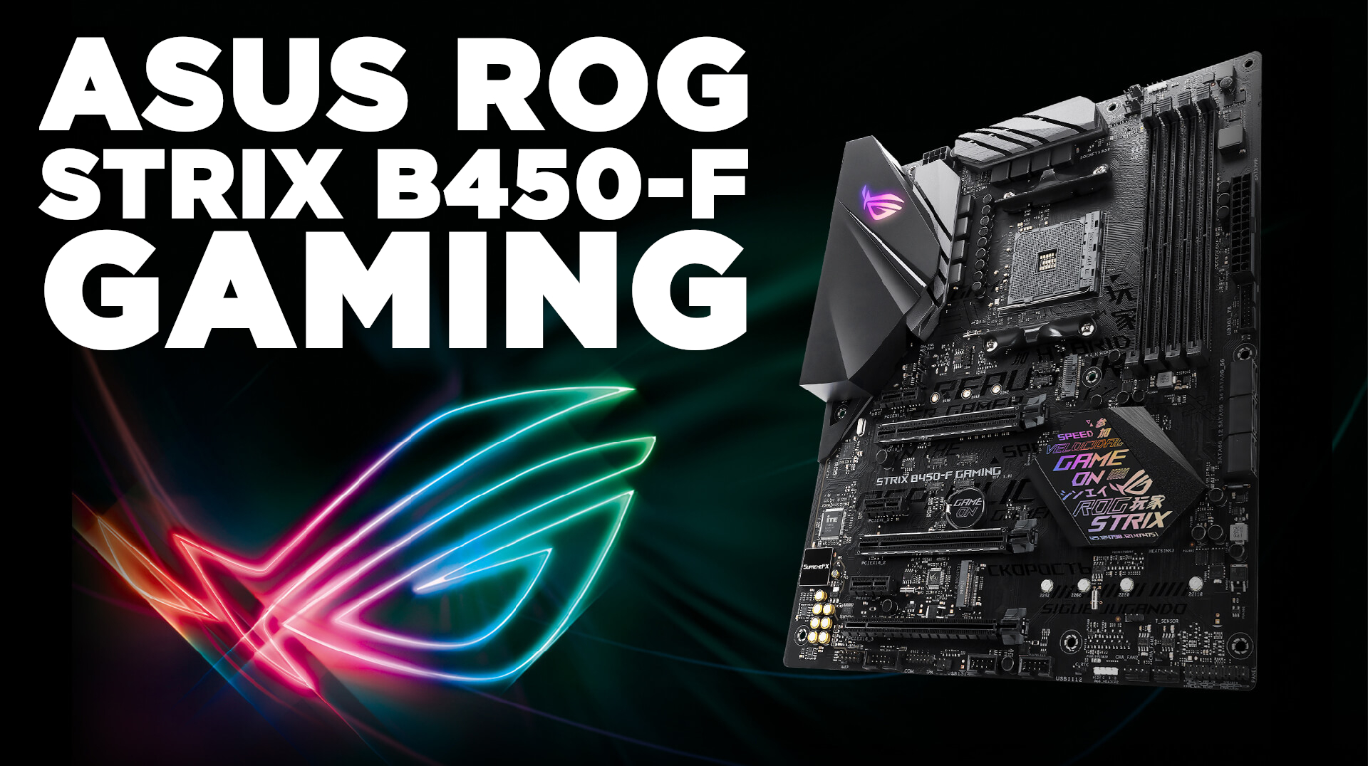 Asus ROG Strix B450-F Gaming incelemesi