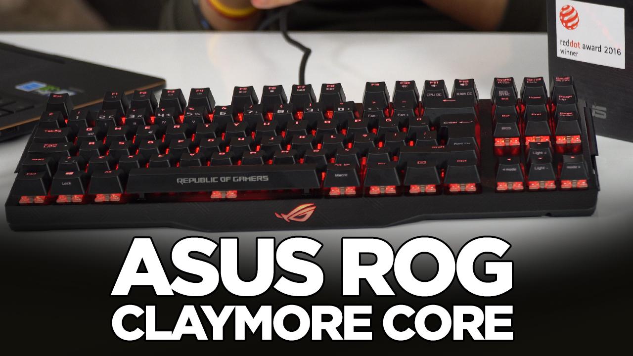 Asus ROG Claymore Core RGB mekanik klavye incelemesi