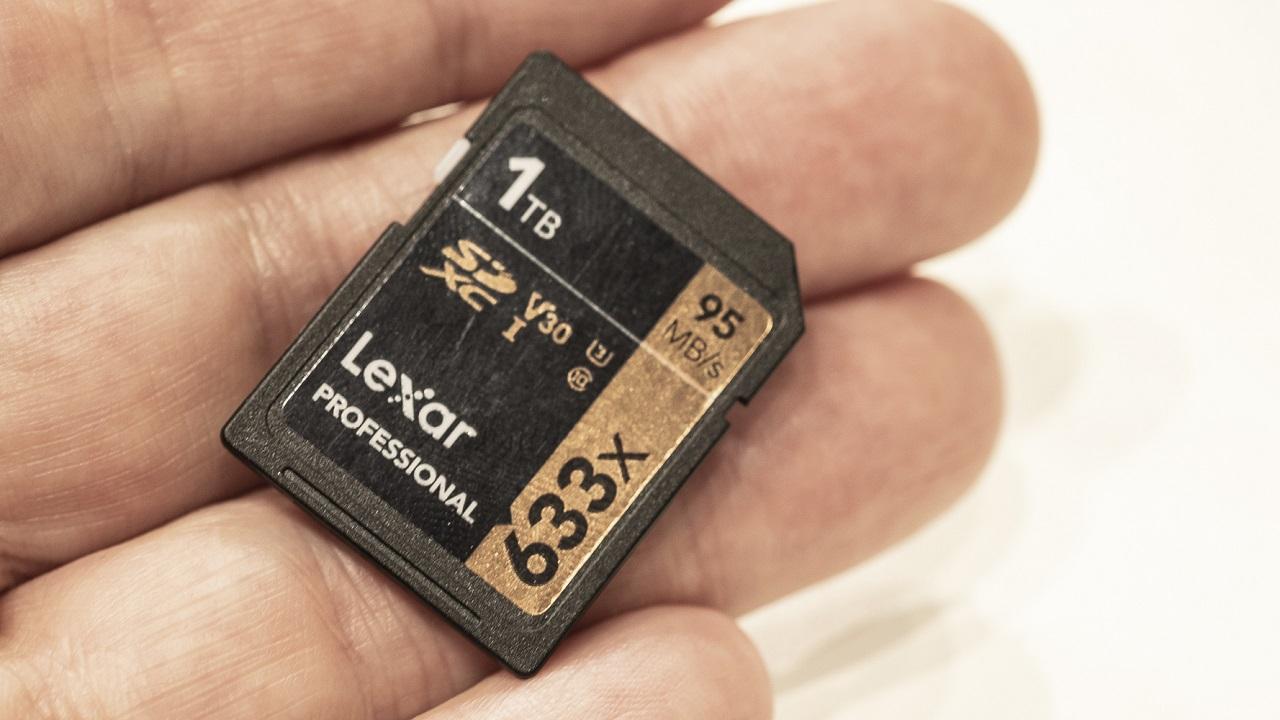 1 TB hafıza kartı