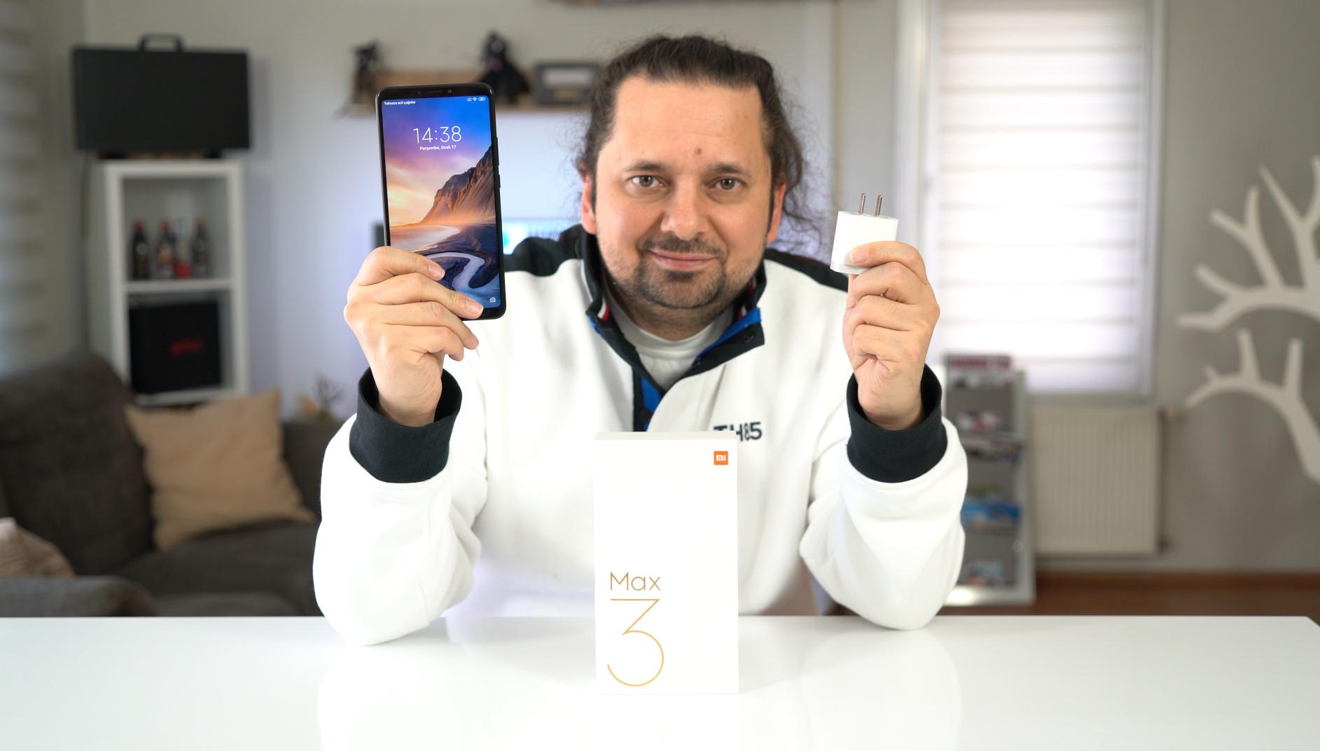 Xiaomi Mi Max 3 Pil testi