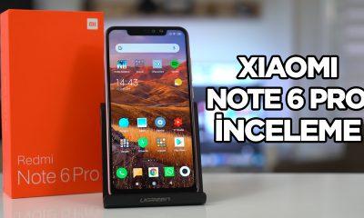 Xiaomi Redmi Note 6 Pro inceleme