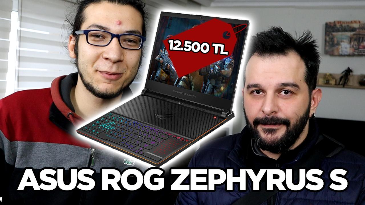 Amerika'dan 12.500 TL'lik laptop getirtmek - Asus ROG Zephyrus S kutu açılışı