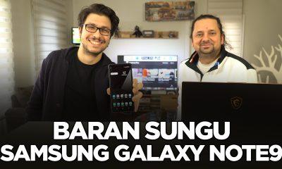 Samsung Galaxy Note9 - Sizin Yorumunuz (Baran Sungu)