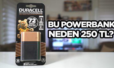 Duracell 10050 mAh powerbank inceleme