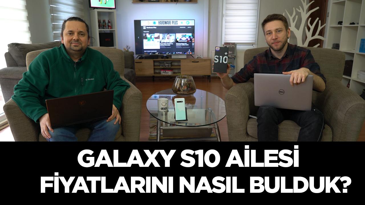 Galaxy S10 ailesi fiyatları