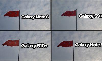 Samsung Galaxy S10+, Note9, S9+ ve Note8 video karşılaştırma!