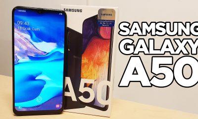 Samsung Galaxy A50 kutu açılışı | Beklenen telefon geldi!