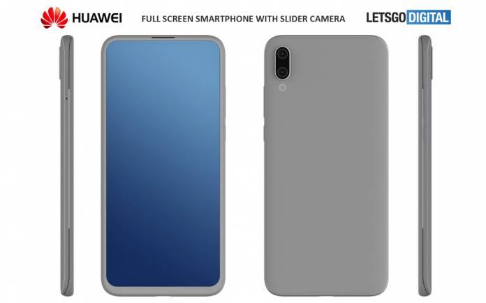 Huawei kızaklı telefon geliştiriyor!