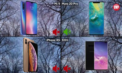 Galaxy S10+, Xiaomi Mi 9, Mate 20 Pro, iPhone XS