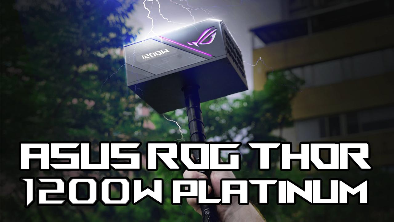 En iyi güç kaynağı! Asus ROG Thor 1200W Platinum incelemesi