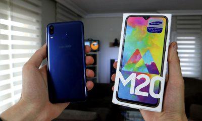 Samsung Galaxy M20 kutu açılışı   5.000 mAh bataryalı telefon!