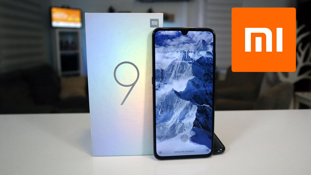 Xiaomi Mi 9 kutu açılışı