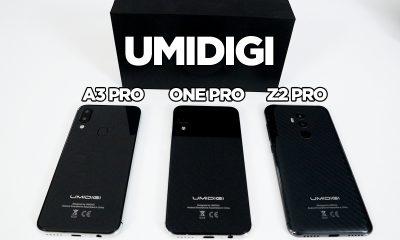Umidigi Z2 Pro, ONE Pro ve A3 Pro ofiste!   Kutu açılışı