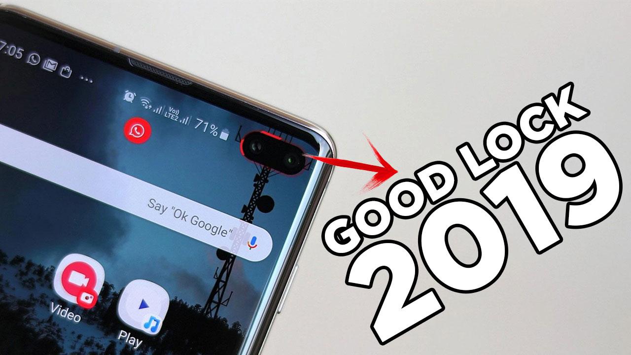 Samsung Galaxy S10 için bildirim ışığı ve ekran kaydı! | Good Lock 2019