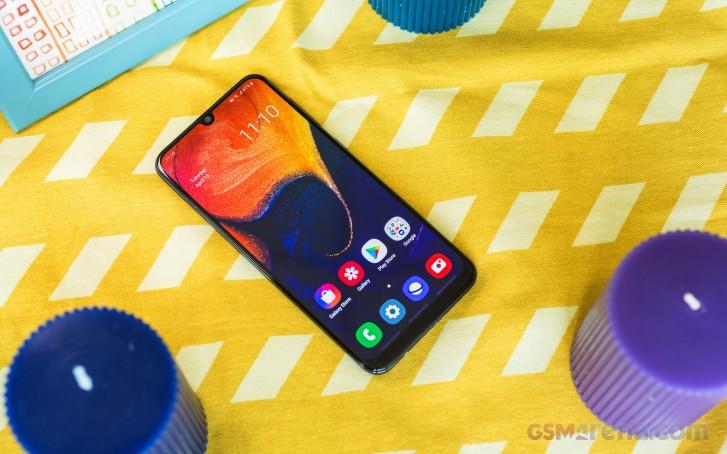 Galaxy A50'ye güncelleme ile yeni özellikler geliyor!