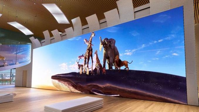 Sony otobüs büyüklüğünde bir ekran çıkarıyor!