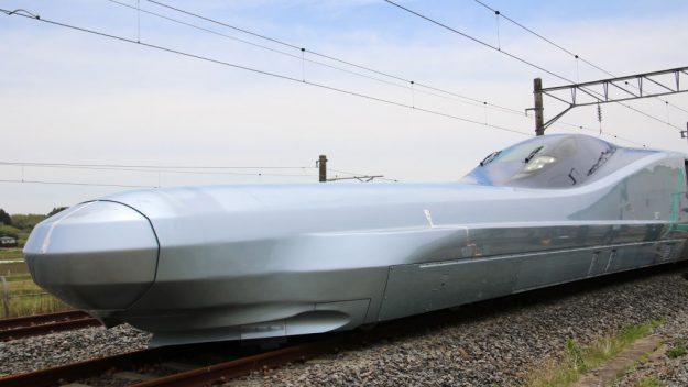 Japonya dünyanın en hızlı trenini test ediyor!